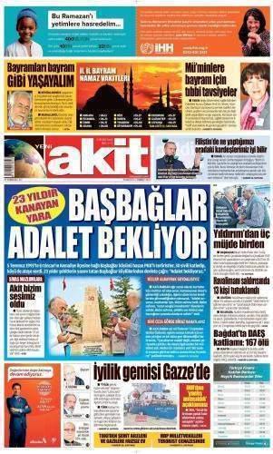 4 Temmuz 2016 Gazete Manşetleri