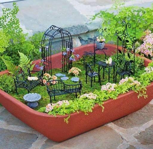 Мини огород дома своими руками
