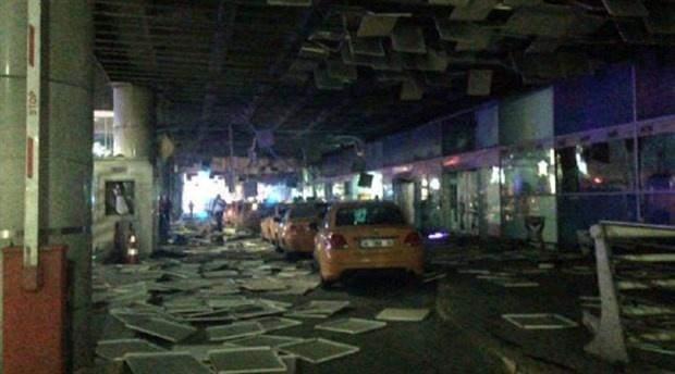 Atatürk Havalimanı patlama sonrası görüntüleri
