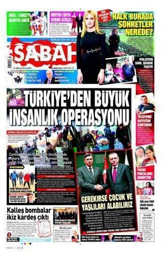 16 Aralık 2016 Gazete Manşetleri