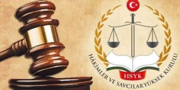 156 hakim ve savcının görev yerini değiştirdi