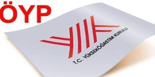 2015 ÖYP kadrolarına 3 branş daha eklendi
