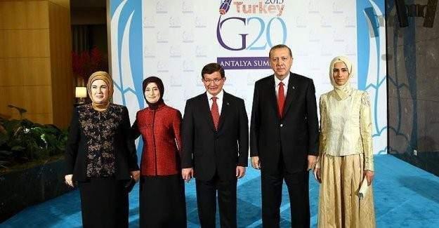 Başbakan Davutoğlu'ndan G20 Liderleri için resepsiyon