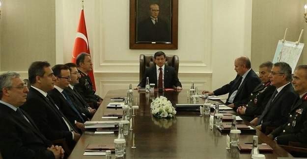 Başbakanlık'ta güvenlik toplantısı yapıldı