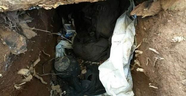 Bingöl'de teröristlerin sığınağı imha edildi