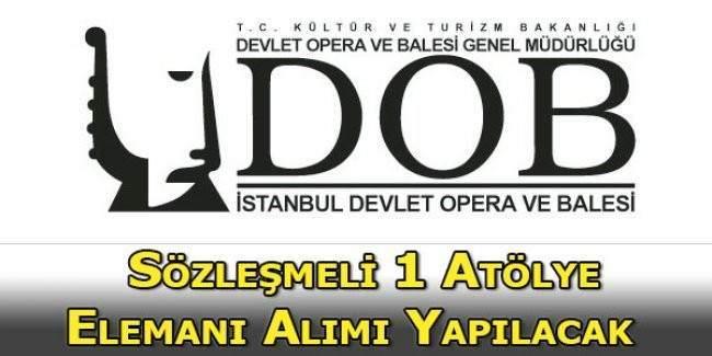 Devlet Opera ve Balesi Müdürlüğü 1 adet sözleşmeli ışık uzmanı alımı ilanı