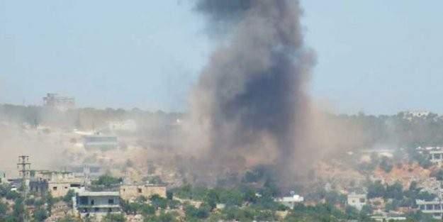 Esed, İran ve Rusya, Suriye'nin kuzeyinde Türkmenlere saldırıyor