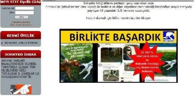 Köpek dehşeti paylaşımına 12 bin 547 lira para cezası
