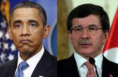 Obama, Davutoğlu'nu tebrik etti