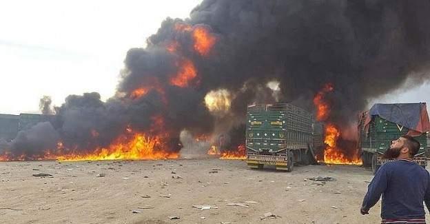 Savaş hukuku mumla aranıyor: İnsani yardım konvoyu vuruldu