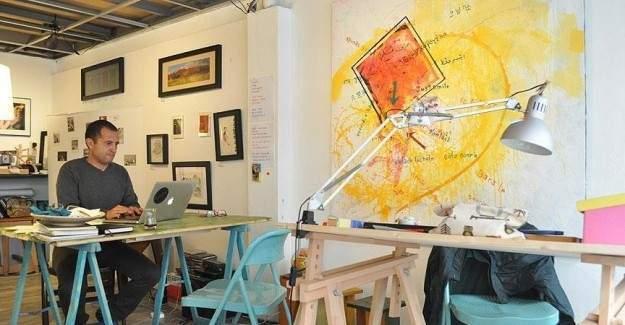 Suriyeli ve Türk sanatçılar bir arada