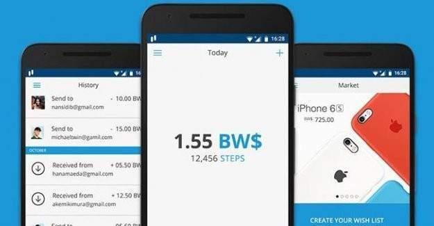 Telefona yüklenen bu uygulama yürürken para kazandırıyor