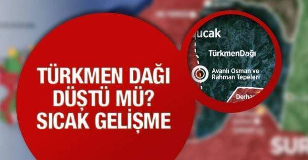 Türkmendağı Esad askerlerinin kontrolüne geçti