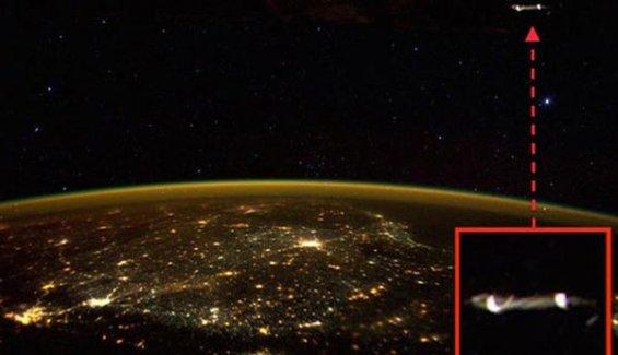 Uluslarası Uzay İstasyonu'ndan çekilen fotoğraf ufo tartışmalarını yeniden alevlendirdi