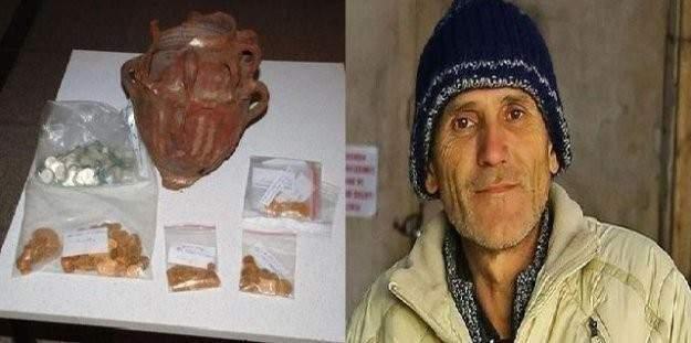 60 liraya çalışan işçi 1 küp altın buldu, yetkililere teslim etti