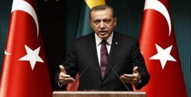 Cumhurbaşkanı Erdoğan'dan resepsiyonda açıklamalar