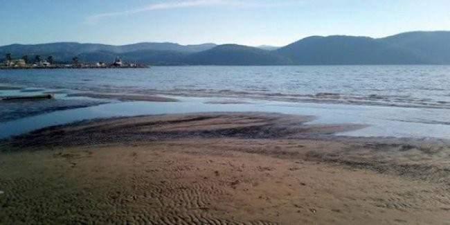 Deniz 20 metre çekildi, halkta deprem paniği oluştu