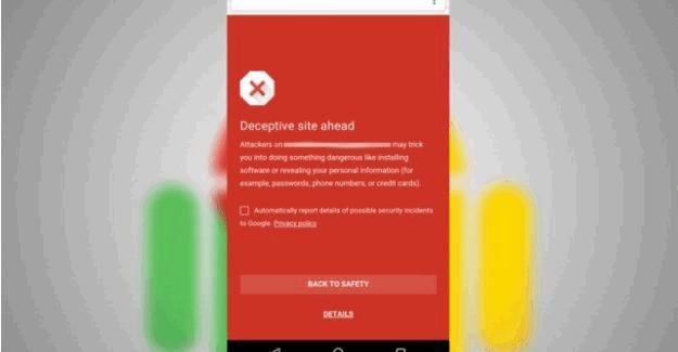 Google, Android kullanıcıları için güvenli gezinti özelliğini sundu