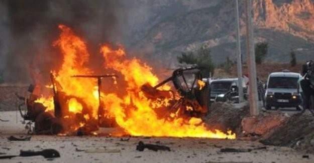 Hakkari'de bombalı saldırı!