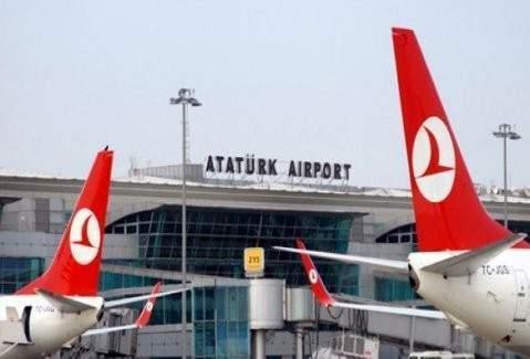 İstanbul'da uçak köpeğe çarptı!
