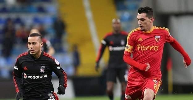 Kayserispor, Beşiktaş'la karşılaşacak