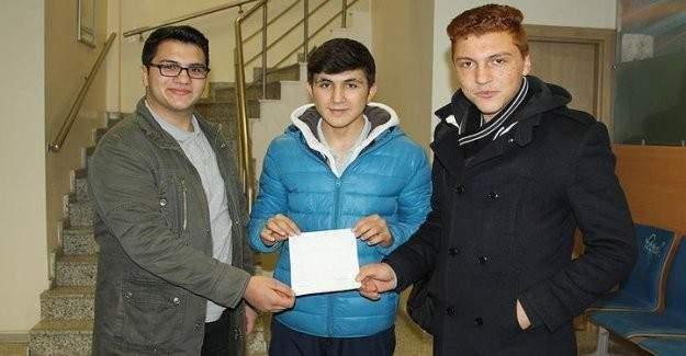 Lise öğrencilerinden Bayırbucak Türkmenlerine yardım