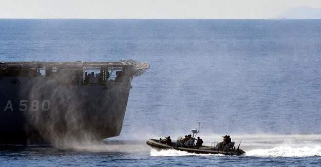 NATO gemilerinden Doğu Akdeniz'de gövde gösterisi