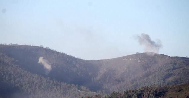 Türkmen köyleri yoğun bombardıman altında
