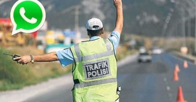 Whatsapp trafik ihlal hattı kapatıldı