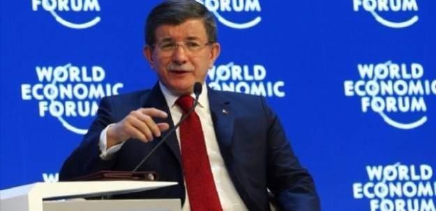 Davutoğlu'ndan Davos'ta önemli mesajlar