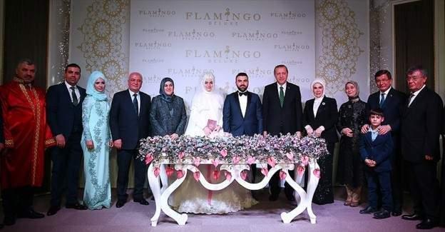 Devletin zirvesi nikah şahitliği yaptı