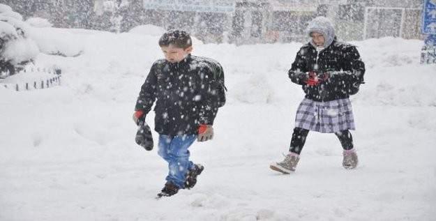 Erzincan'ın o ilçelerinde okullar tatil!