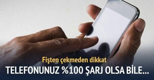 iPhone'ların şarj göstergesi %100 kısmında takıldı kaldı