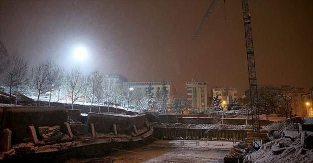 İstanbul'da 7 apartman boşaltıldı