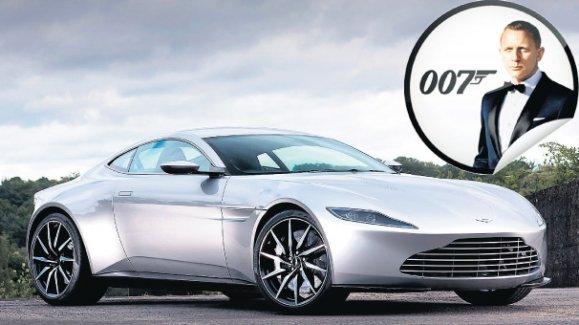 James Bond çok az kullanılmış lüks moto arabasını satıyor