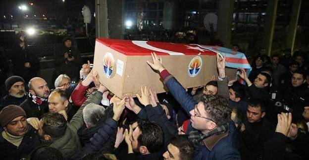 Türkmendağı'nda şehit olan Küçük'ün cenazesi İstanbul'da