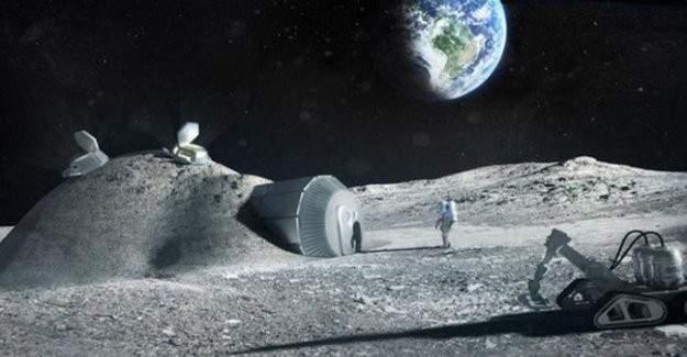 Mars'tan sonra Ay yüzeyine de köy kurulacak