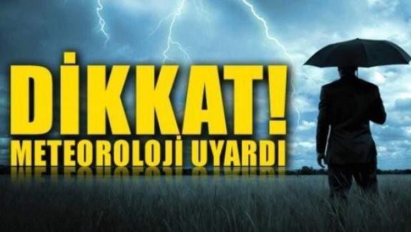 Meteoroloji İzmir'i fena uyardı