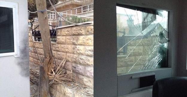 Kaymakamın evine roketatarla saldırı