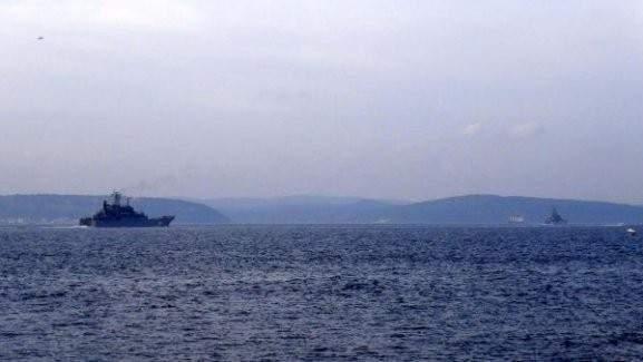 Rus gemileri Çanakkale'de