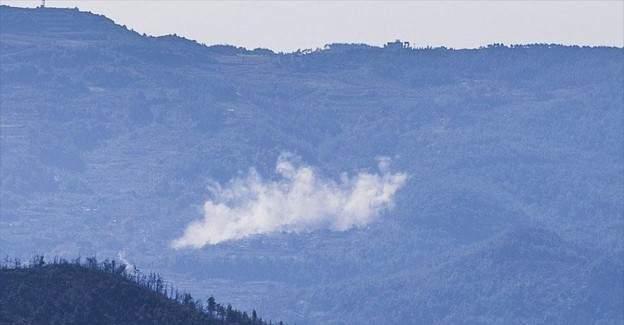 Rus jetleri Türkmendağı'nı vuruyor