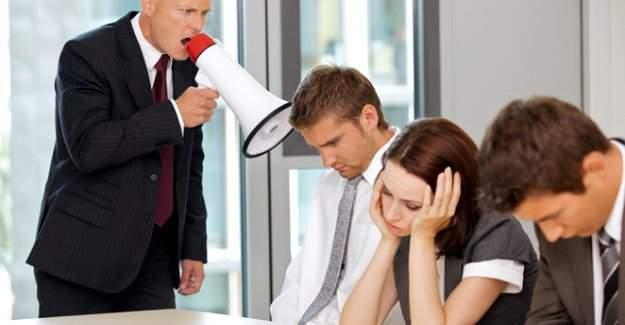 SGK'dan Mobbinge (Psikolojik Taciz) önlem
