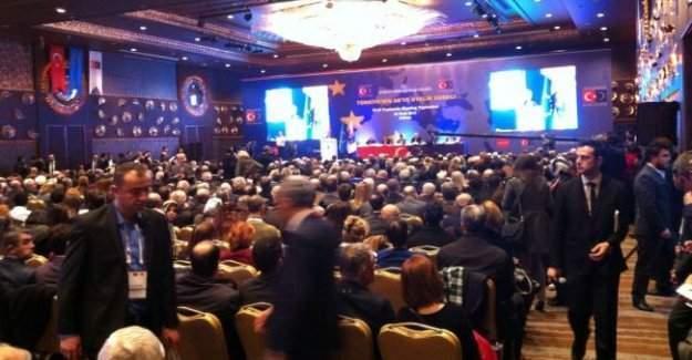 Türkiye'nin AB'ye Üyelik Süreci konulu sivil toplumla diyalog toplantısı yapıldı
