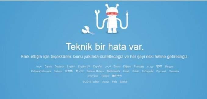 Twitter çöktü mü yoksa siber saldırı mı?