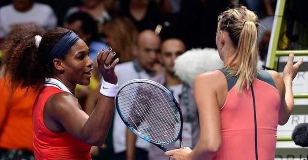 Williams ile Sharapova çeyrek finalde mücadele edecek