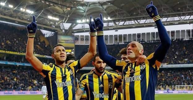 Zirve maç yine Fenerbahçe'nin