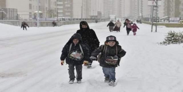 3 İlde okullar tatil edildi