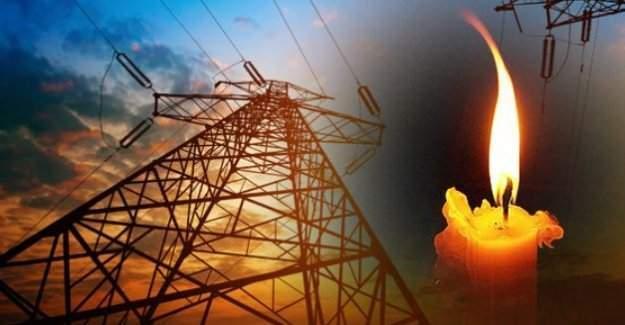 8 Şubat Pazartesi günü  4 ilde elektrik kesintisi