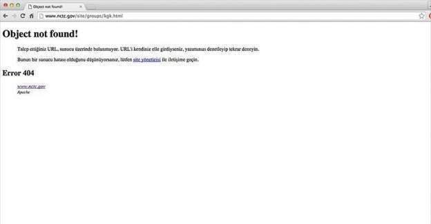 ABD 'PYD'nin PKK'nın kolu' olduğunu yazan internet sayfalarını kapattı