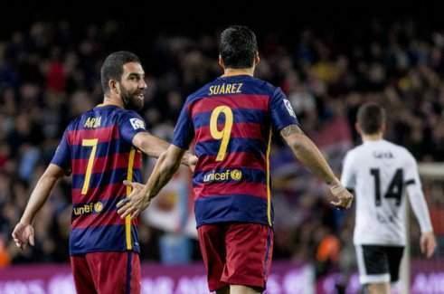 Barcelona, Valencia'yı gol yağmuruna tuttu